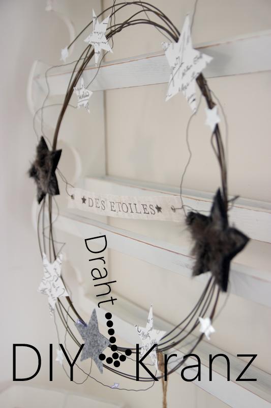 diy draht kranz creativlive. Black Bedroom Furniture Sets. Home Design Ideas