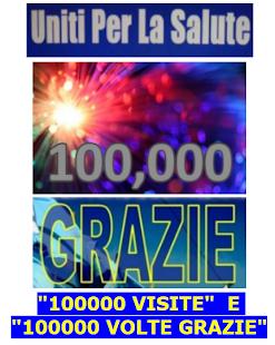 UNITI PER LA SALUTE 100000 VISITE