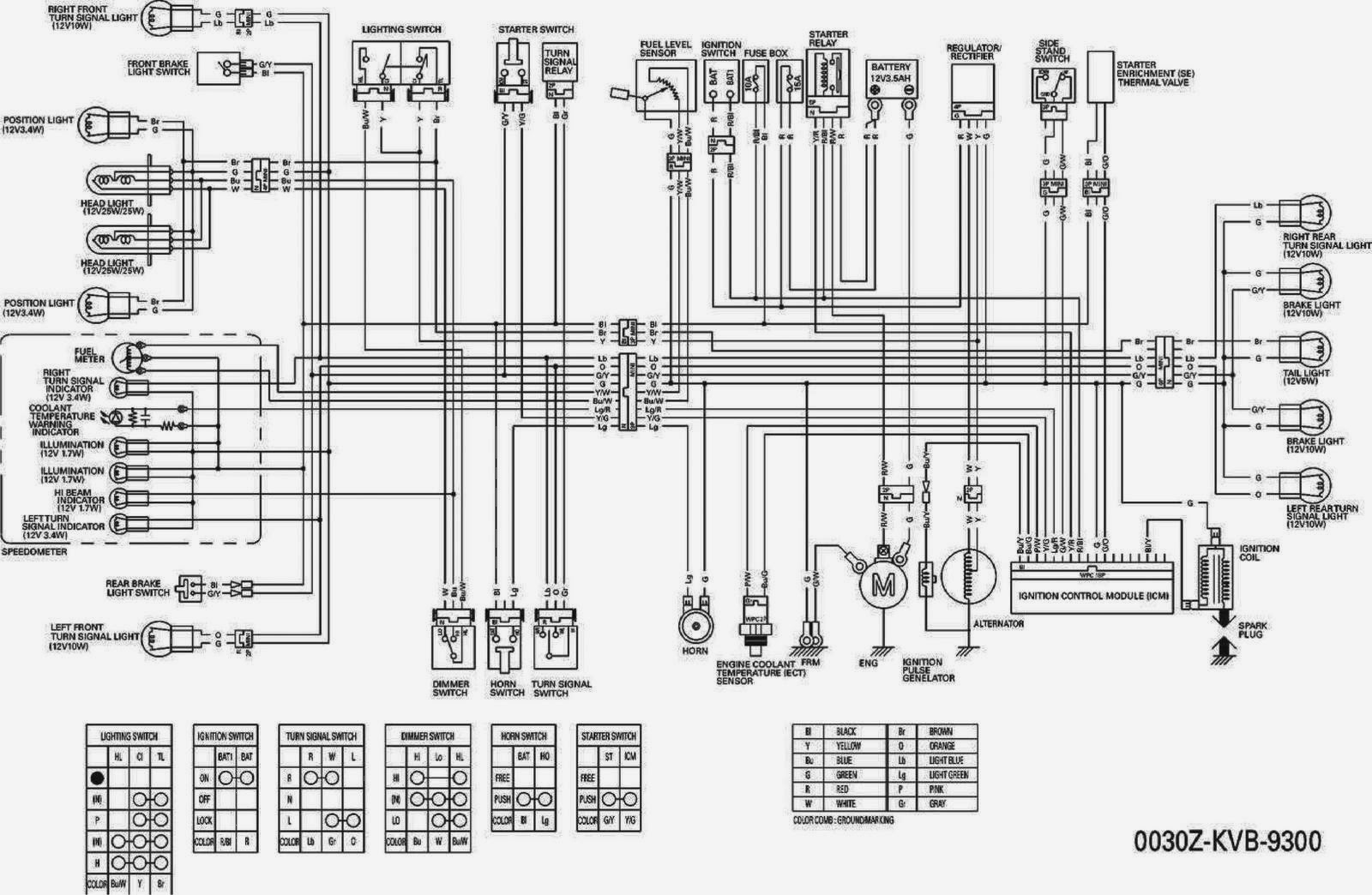 Wiring Diagram Yamaha Vega : Yamaha remote control wiring diagram the