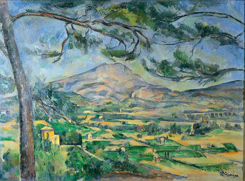 "Picture of ""Mont Sainte-Victoire"" by Paul Cezanne, 1887"