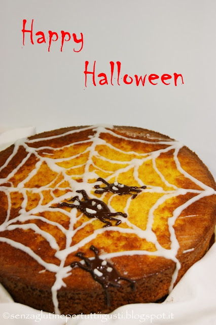 torta halloween senza glutine e senza lattosio