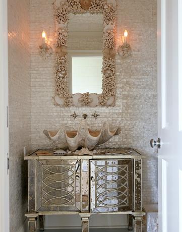 glamorous bathrooms - casas de banho glamorosas | home interior style