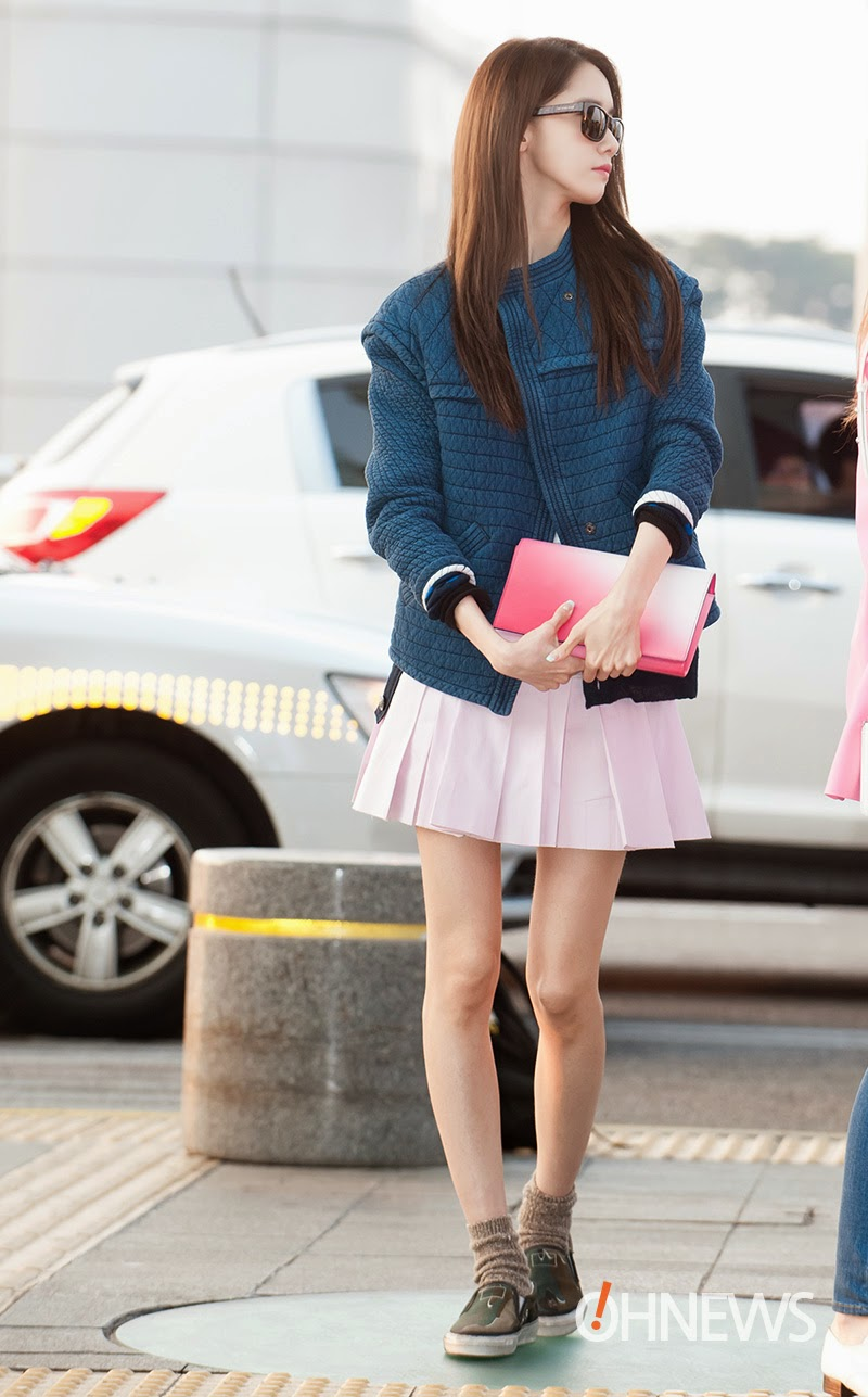 Style Through Viewfinder Yoona Airport Fashion 140322