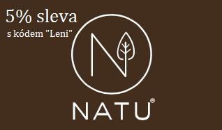 NATU.cz S kódem LENI 5% sleva!