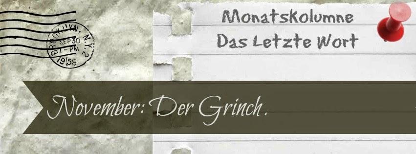 November: Der Grinch.