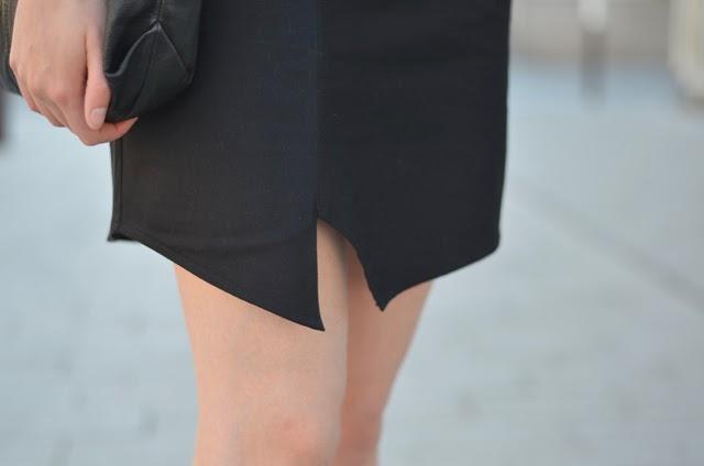 Jupe asymétrique J.Velez couture