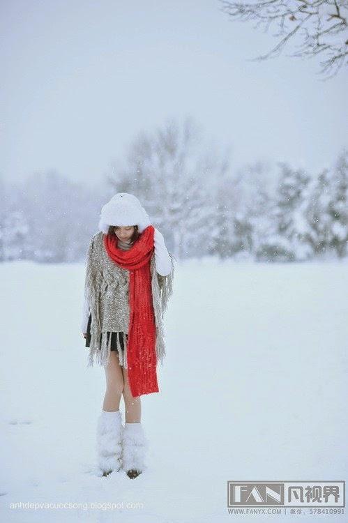 Dạo chơi ngoài tuyết lạnh 3