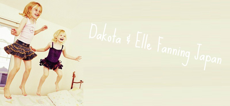 Dakota & Elle Fanning Japan
