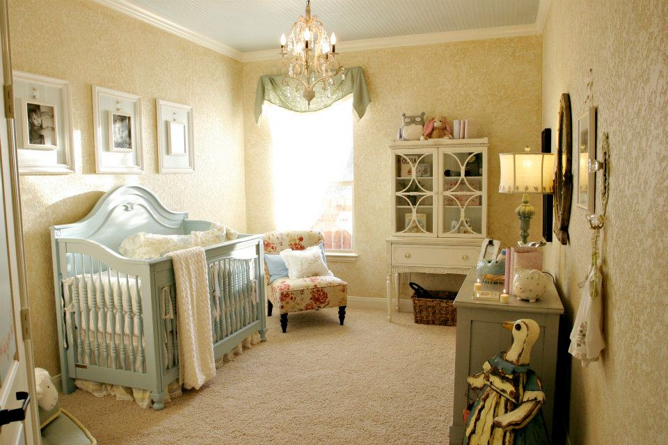 The ragged wrenShabby chic nursery