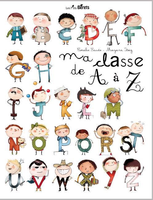 http://livre.fnac.com/a3666147/Coralie-Saudo-Ma-classe-de-A-a-Z