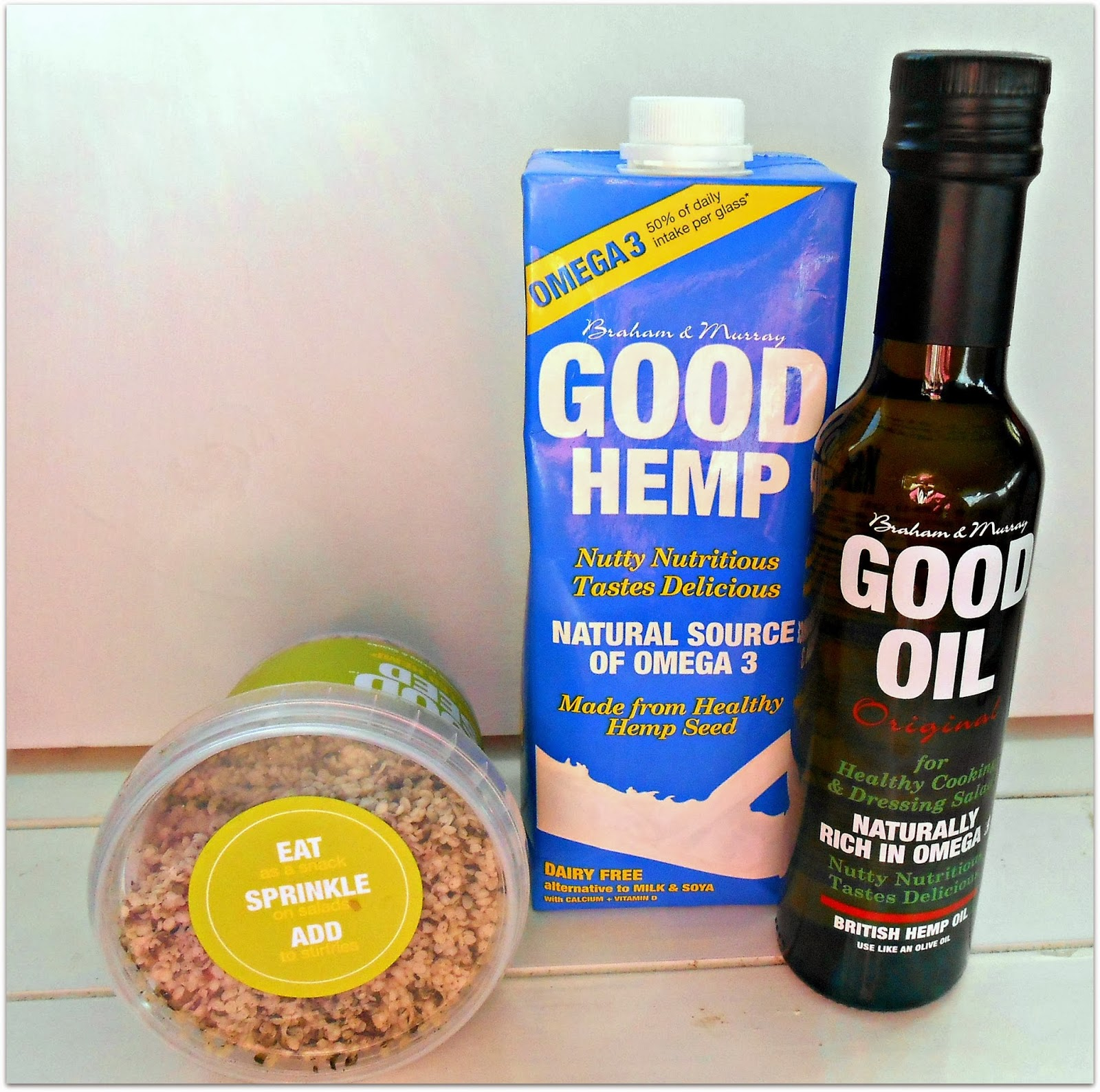 Braham &  Murray- Good Hemp Food - REVIEW