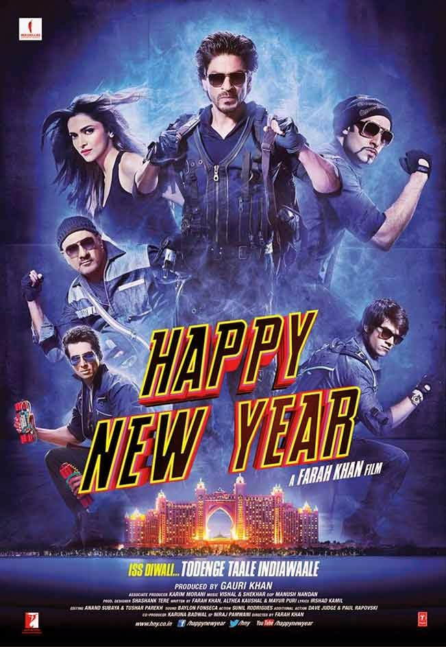 Happy New Year 2014 Hindi DVDScr 700mb Mafiaking