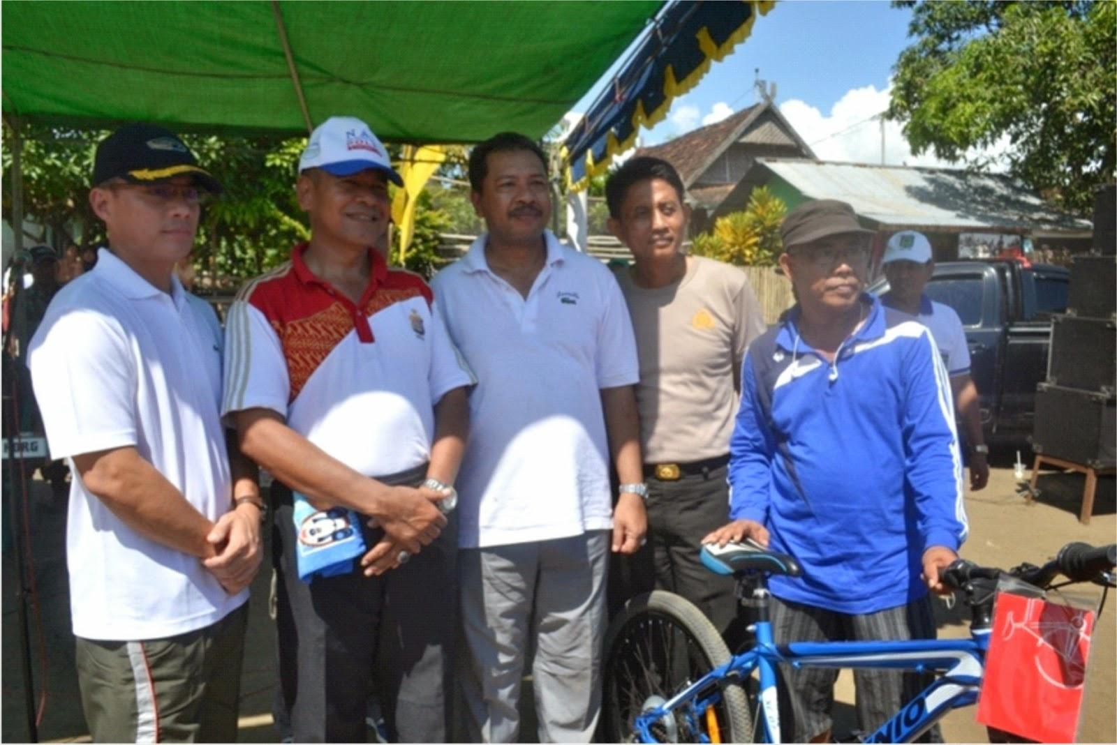 Sambut HUT ke-13 Kota Bima Digelar Lomba Sepeda Fun Bike