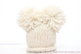 Newborn Hat's 3 ways!