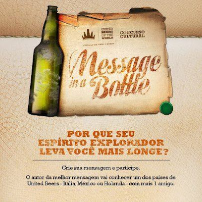 "Concurso Cultural ""Message in a Bottle"""