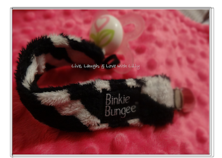 binkie bungee review zebra mam pacifier