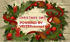 BEST AND CREATIVE XMAS SMS – VESTERconcept