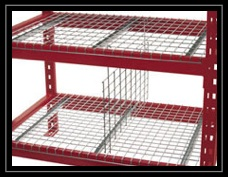 Pallet Rack Wire Mesh Hanging Dividers