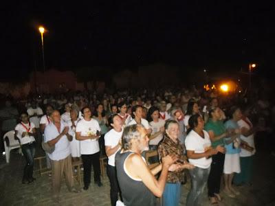 Missa  de abertura da festa em honra a Santo Antonio, Rafael Godeiro - RN