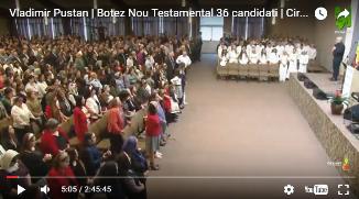 Vladimir Pustan | Marile întrebări ale Invierii | Botez cu 36 candidați | 16 Aprilie 2017