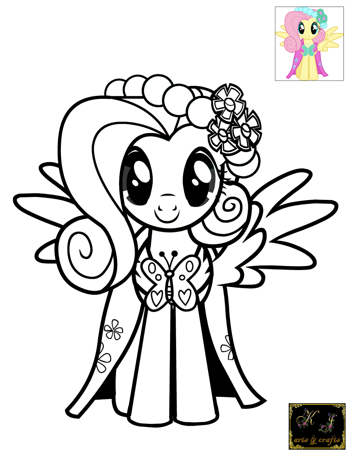 Kj Coloring Pages Coloring