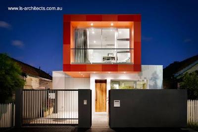 Casa familiar urbana moderna en Australia