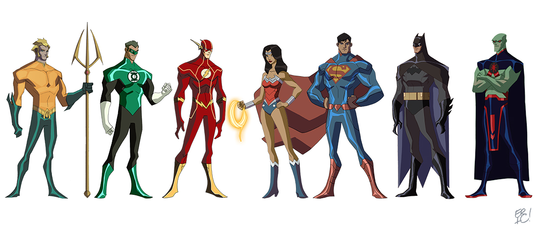 Cartoon Characters Justice League : Image gallery justice league characters