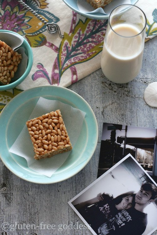 Gluten-Free Rice Crispy Treats | Gluten-Free Goddess Recipes