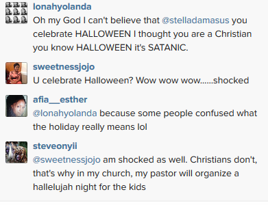 the true meaning of halloween thankfully the matter didnt get out of hand at least before i munched the chats when daniel ademinokan came in and - True Meaning Of Halloween Christian