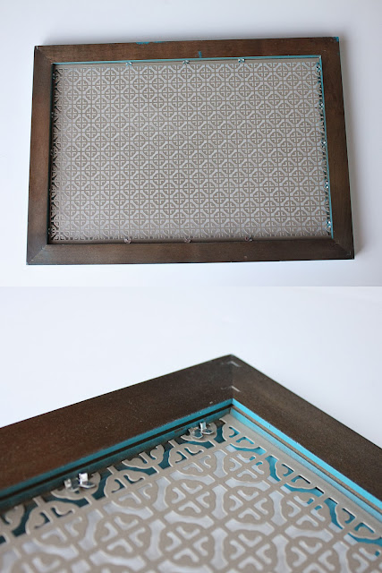 framed radiator grate