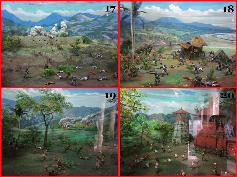 Diorama ke 17-20 Di Museum Bajra Sandi
