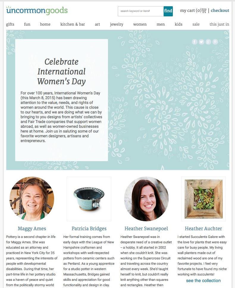 Bridges Pottery Blog International Women S Day Coverage