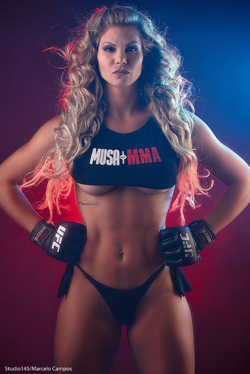 Candidata a Musa do MMA, Jamila Sandora é experiente no mundo da luta