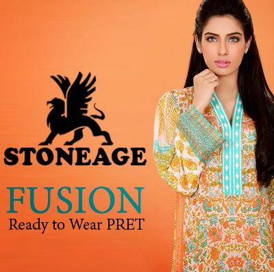 Stoneage Fusion - Ready to Wear Pret for Girls - Stoneage Fusion Kurti