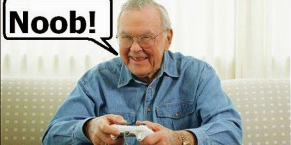 old guy gamer