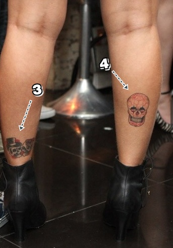 Confira as 27 tatuagens de daniele bolina