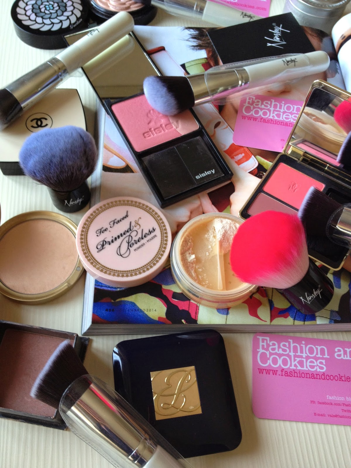 Nanshy foundation brushes review on Fashion and Cookies, fashion blogger