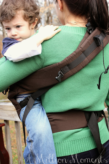 toddler babywearing