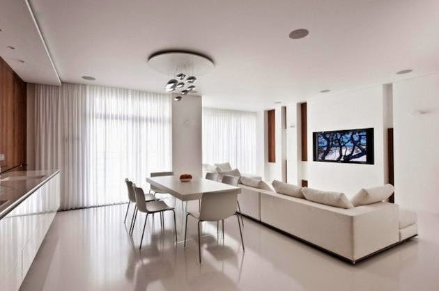 Ideas modernas para decorar en color blanco 5