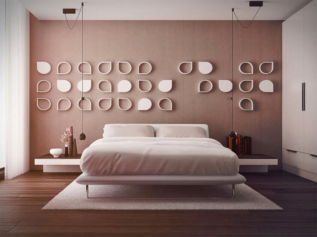 Foundation dezin decor wall treatment for different for Bedroom decor pictures