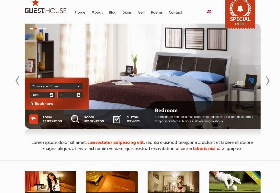 Guesthouse - Hotel WordPress Premium Theme