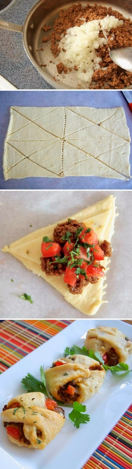 How To Make Mini Taco Pockets