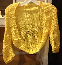 You too can knit! Make this shrug at Knittin with Nita!