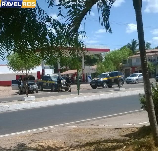 Urgente: Polícia Rodoviária Federal faz Blitz no centro de Anapurus