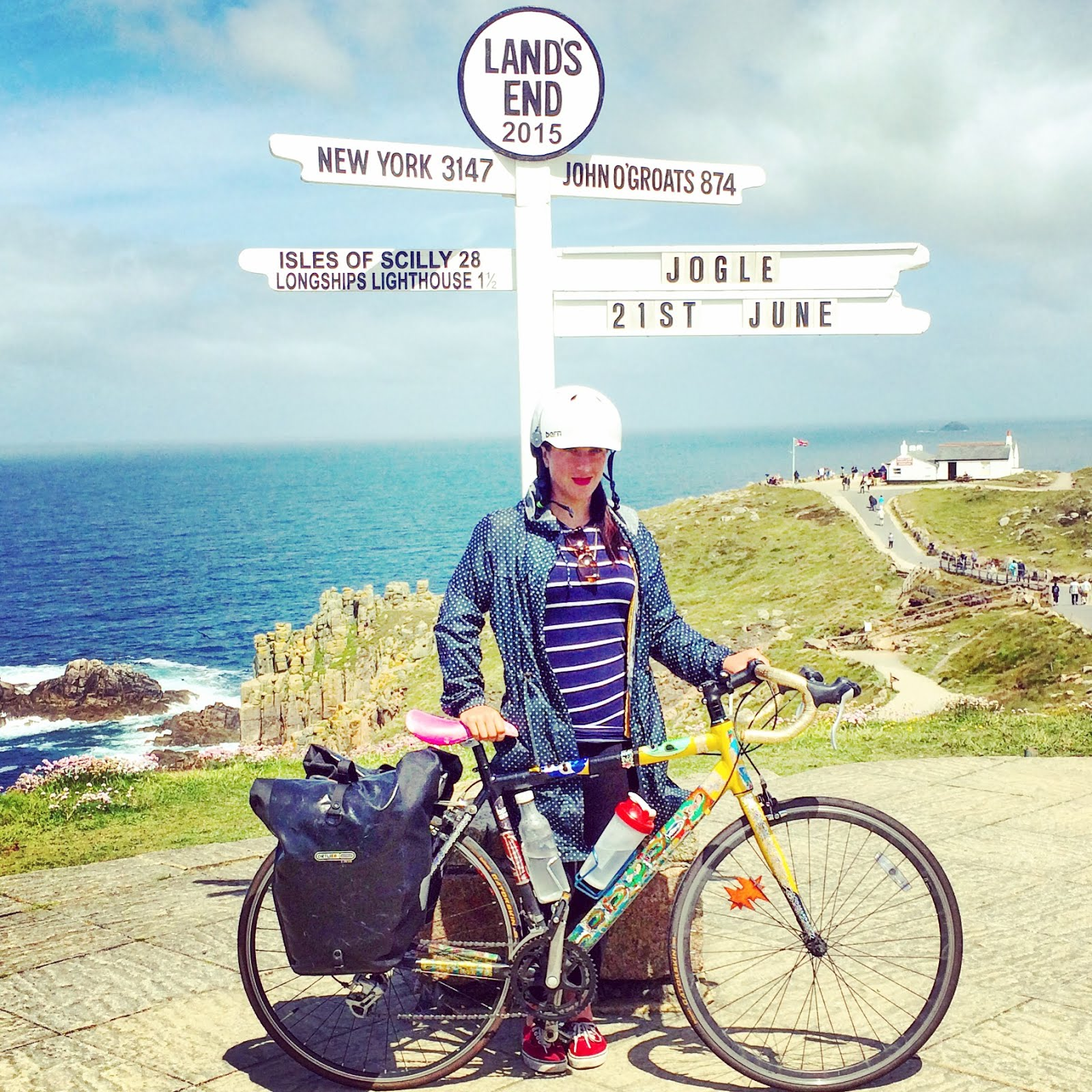 That time I cycled the length of GB