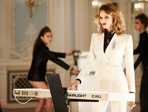 Eva Herzigova Duran Duran Girl Panic