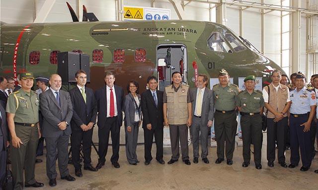 Kemampuan CN295 TNI AU