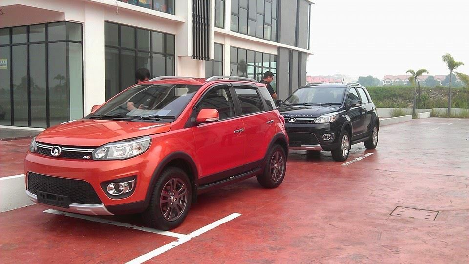 Motoring Malaysia The Great Wall M4 Chunky Looks Eev Tax