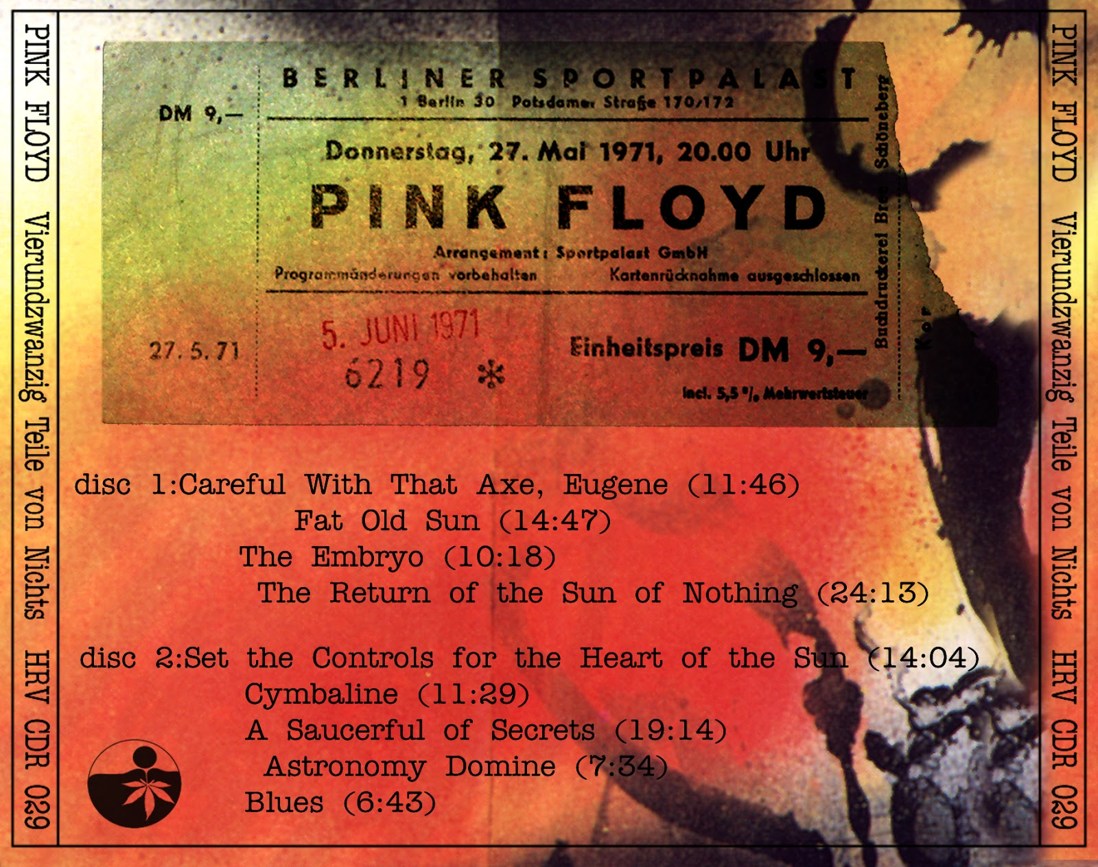 The Witchwood Records: Pink Floyd - Berlin 1971