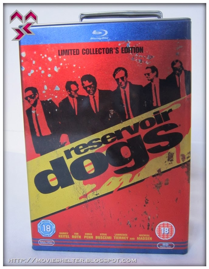 Reservoir Dogs Blu Ray Petrol Can